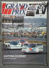 1985 MARCH GRAND PRIX INTERNATIONAL MAGAZINE F1 MONTE PEUGEOT PORSCHE DAYTONA