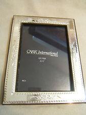 "Carr International Silver Plate Photo Frame for 5 x 7 "" Photos"