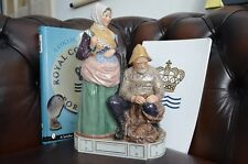 Royal Copenhagen 12172 Carl Martin Hansen Figurine Skovshoved Fisherman Woman
