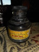 Antique Ink Bottle Waterman Co NY for Fountain Pen includes Lid w Label