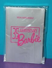 NRFP! Vintage Barbie 35th ANNIVERSARY FAMILY HISTORY Booklet Book NEW!