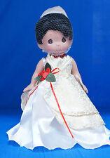 Tiana Princess Frog Disney Christmas Treasure Precious Moments Doll Signed 4852
