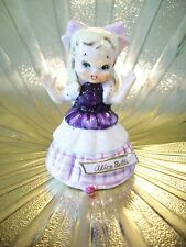 RARE Vintage Alice Belle in Wonderland Girl Bell Figurine ABSOLUTELY DARLING!