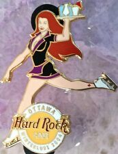 Hard Rock Cafe OTTAWA 2004 WINTERLUDE Sexy WAITRESS SKATER Girl PIN - HRC #25036