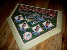 Ny Yankees 1996 World Champions Numbered Base Plate-Collectible-Very Heavy Piece