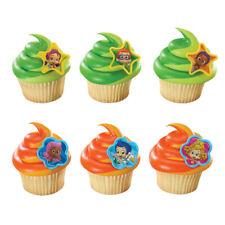 New Bubble Guppies Cupcake Rings One Dozen