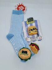 Good Burger Slipper Socks & Apple Air Pod Holder Nickelodeon - The Nick Box New