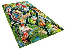 Road Traffic Airport Educational Area Rug for Children Kids Bedro. Size : 80 x 120cm Kids Play Rug Mat Playmat with Non-Slip Design