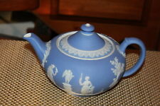 Wedgwood Blue & White Cameo Teapot