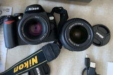 Nikon D60 10.2MP Digital SLR Camera - Black (Kit w/ 18-55mm Lens) with Bag