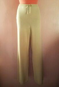 Adrienne Vittadini Cashmere Sweater Lounge Pants/Joggers~Beige~S=M-L-Maternity
