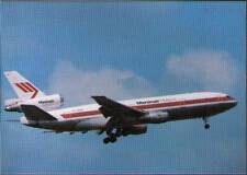 (vvl) Airplane Postcard: Martinair, DC10
