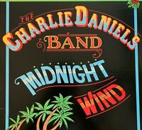 CHARLIE DANIELS BAND~Pre-Owned LP-MIDNIGHT WIND..RARELY PLAYED..VG+/VG+