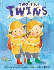 Two Is for Twins, Lewison, Wendy Cheyette | Board book Book | Acceptable | 97806