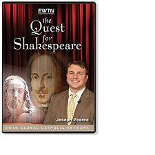 THE QUEST FOR SHAKESPEARE-SEASON ONE: Biographer Joseph Pearce: AN 4-DISC DVD