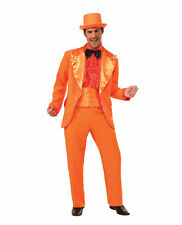Men's Prom King Costume Tuxedo Orange Funny Dumb and Dumber Lloyd Standard