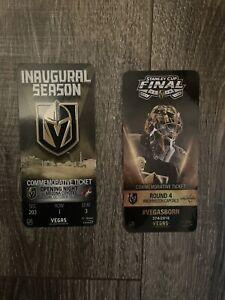 2017-18 LAS VEGAS GOLDEN KNIGHTS Commemorative Tickets