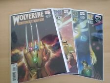 WOLVERINE INFINITY WATCH #1-4 MARVEL 2019 ALL BRAND NEW NM/MT!!!
