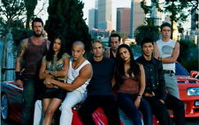 08 Fast and Furious 7 - Car Race Family Paul Walker Movie 24x36 inch POSTER
