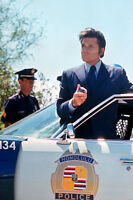 Jack Lord As Det. Steve Mcgarrett Hawaii Five-O 11x17 Poster With Police Car