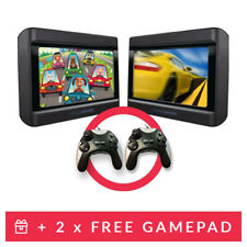 Nextbase 9 inch In Car Portable DVD Twin Player with Easy Fit Mount Controllers