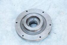 "Buck 100L Co. Lathe Face Plate S 357 Kalamazoo metalwork machinist tool 5 7/8""D"