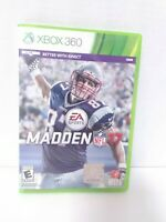 Madden NFL 17 (Microsoft Xbox 360, 2016) Game & Case Tested Fast Shipping