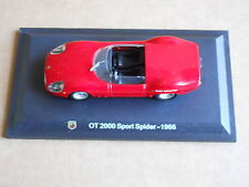 Leo Models CAR DIE CAST 1:43 NEW FIAT ABARTH OT 2000 SPORT SPIDER 1966 [MV-14 ]