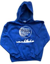 MST3K Mystery Science 3000 Sweatshirt Large Blue Hoodie