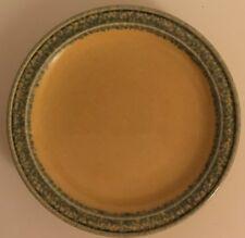 "Pfaltzgraff Americana Folk Art Yelloware Sponge MAFA Luncheon Plate Dessert 7""D"