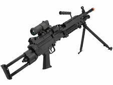 """Cybergun FN Licensed M249 Para """"Featherweight"""" Airsoft Machine Gun LMG - Black"""