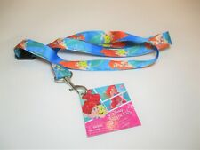 Disney's Little Mermaid Ariel & Flounder ID Holder Keychain Lanyard
