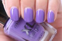 ^^SALE^^ CoverGirl XL GEL NAIL POLISH No Light PLUMPED-UP PLUM Lavender Purple