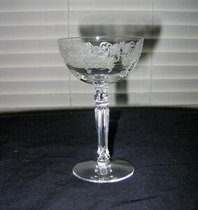 Fostoria Elegant Glass Stems-Buttercup-Cocktails ( set of 7 )