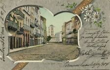 brazil, PERNAMBUCO, Rua do Bom Jesus (1904) Stamps