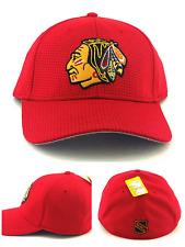 Chicago Blackhawks New American Needle Red Stretch Dri Tech Era Flex Fit Hat Cap