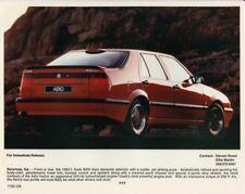 1993 1/2 Saab 9000 Aero Color Press Photo 0013