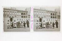 Monaco Placca Lente Stereo Vintage Positivo 6x13cm