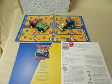 Monster Truck Math Game Board & 4 Trucks Pre-K-1st Elementary Math Add Subtract
