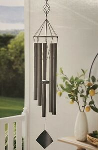 "5 Ft 3"" Large Majestic Musical Bronze Wind Chime Durable Heavy-Weight Tubes"