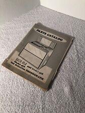 Rock-ola, Original, Jukebox, Model 463 & 469, Parts Catalog, Manual