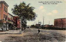 c.1910 Stores Southern Blvd. from 149th St. Bronx NY post card