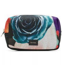 Paul Smith Men's 'Rose Collage' Print Mesh Toiletry Bag / Washbag - BNWT