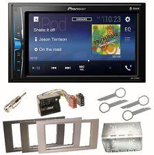 Pioneer MVH-A200VBT Moniceiver USB Einbauset für Ford Focus C-Max Fiesta Transit