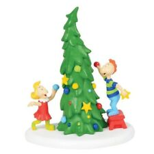 Department 56 Grinch Village Who Ville Christmas Tree Figurine 4059423 New