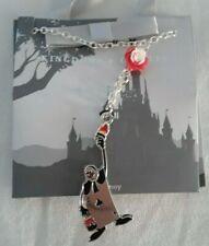 Disney Kingdom + Castles Alice In Wonderland Painted The Rose Red Necklace