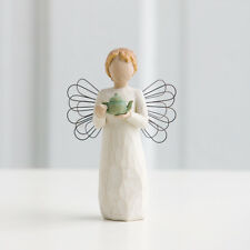 New & Boxed Willow Tree Figurine 'Angel of the Kitchen' Teapot #26144 Gift