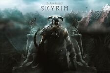 "The Elder Scrolls video game poster 24 x 36"" Skyrim - Oblivion"
