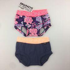 Girls Size 00 Bonds Oopsytail Absorbant Shorts Set of 2