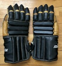 Vintage Leather Hockey Gloves Mitts by Winwell